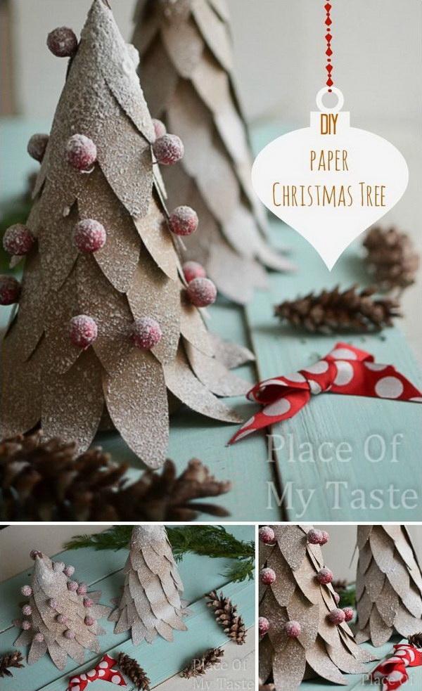 35 DIY Christmas Decoration Ideas , For Creative Juice