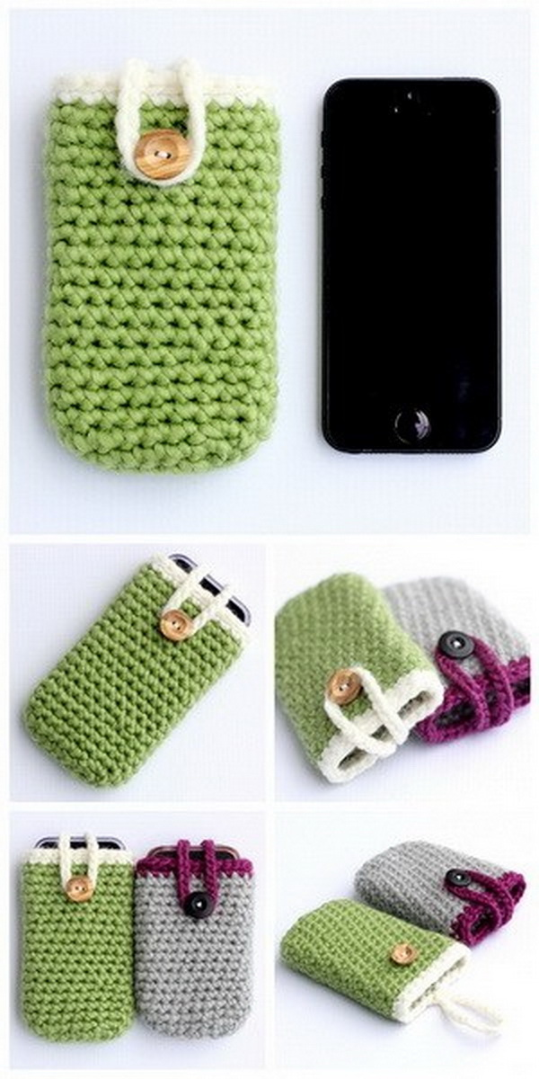 Crochet Iphone Cases.