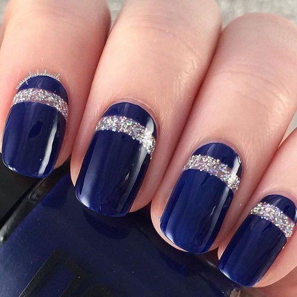 40 Blue Nail Art Ideas , For Creative Juice