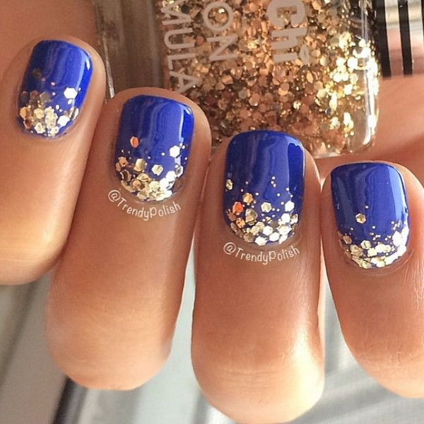 40 Blue Nail Art Ideas For Creative Juice,New York Institute Of Art And Design Login