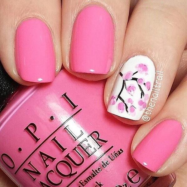 pink nail designs - Pink Nail Designs - Yolar.cinetonic.co