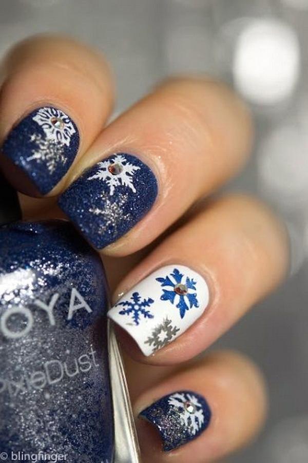 25 Inspirational Winter Nail Art Ideas - For Creative Juice