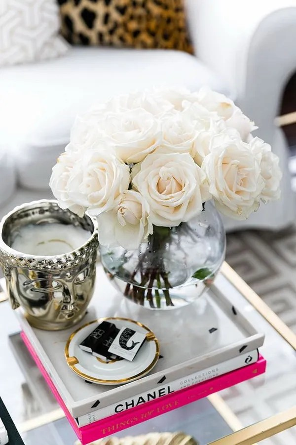 30 Living Room Decoration With Flowers And Vases Via Forcreativejuice Com