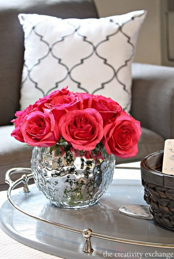 30+ Living Room Decoration With Flowers And Vases. (via  Forcreativejuice.com) Part 46