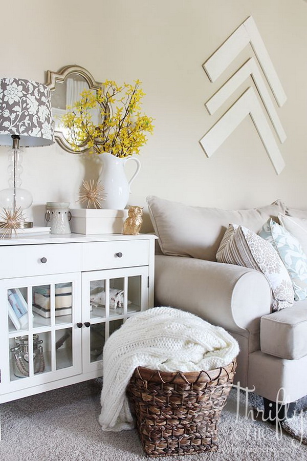 30+ Beautiful Spring Living Room Decoration with Flowers and Vases ...