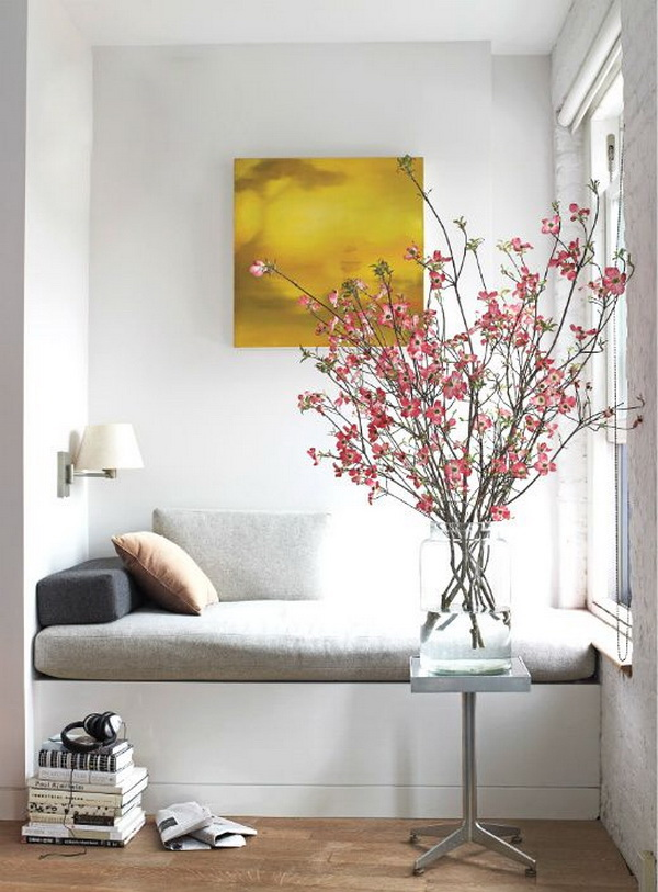 living room vase decoration corner shelf for 30 beautiful spring with flowers and vases via forcreativejuice com
