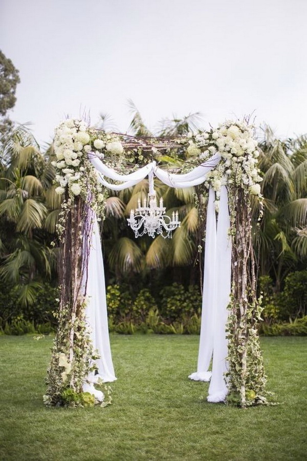 Vintage Wedding Arch Decor.