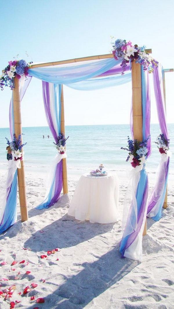 Beach Wedding Arch Decor.