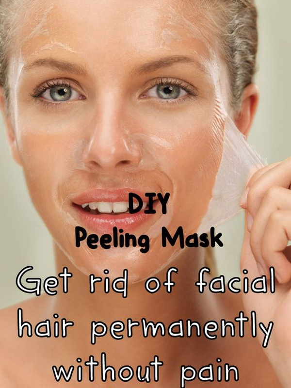 Get Rid of Facial Hair Permanently without Pain.
