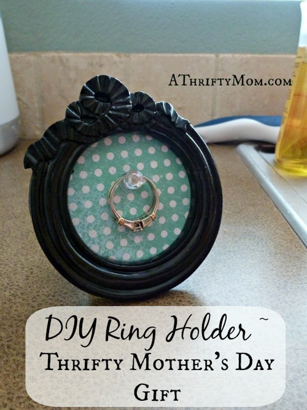 DIY Ring Holder.