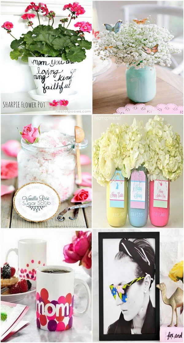 Thoughtful DIY Mother's Day Gift Ideas.