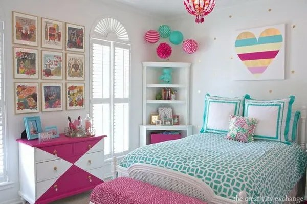 40+ Beautiful Teenage Girls' Bedroom Designs - For ... on Beautiful Rooms For Teenage Girls  id=99461