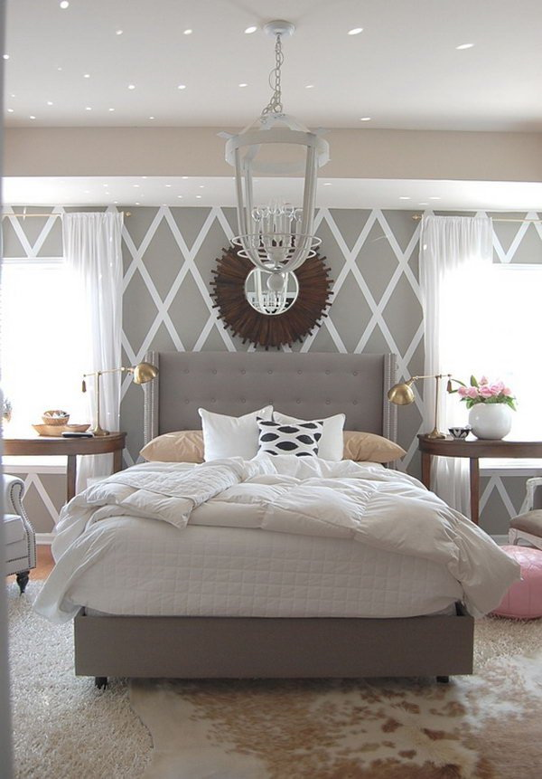 Master Bedroom Paint Color Ideas---Gray Master Bedrooms. & Master Bedroom Paint Color Ideas: Day 1-Gray - For Creative Juice