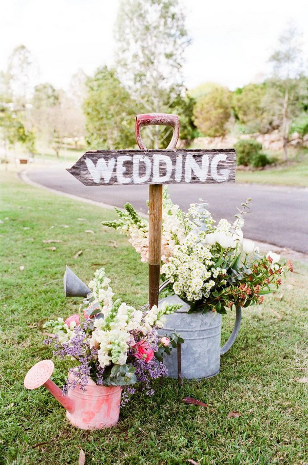 40+ Awesome Shabby Chic Wedding Decoration Ideas - For Creative Juice