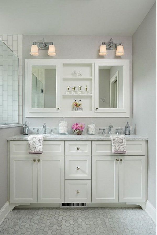 Small bathroom vanity dimension ideas.