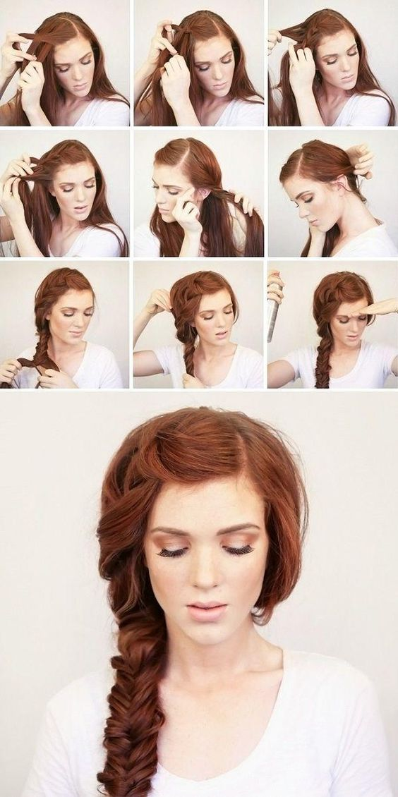 Bohemian Side Braid Festival Hair Tutorial.