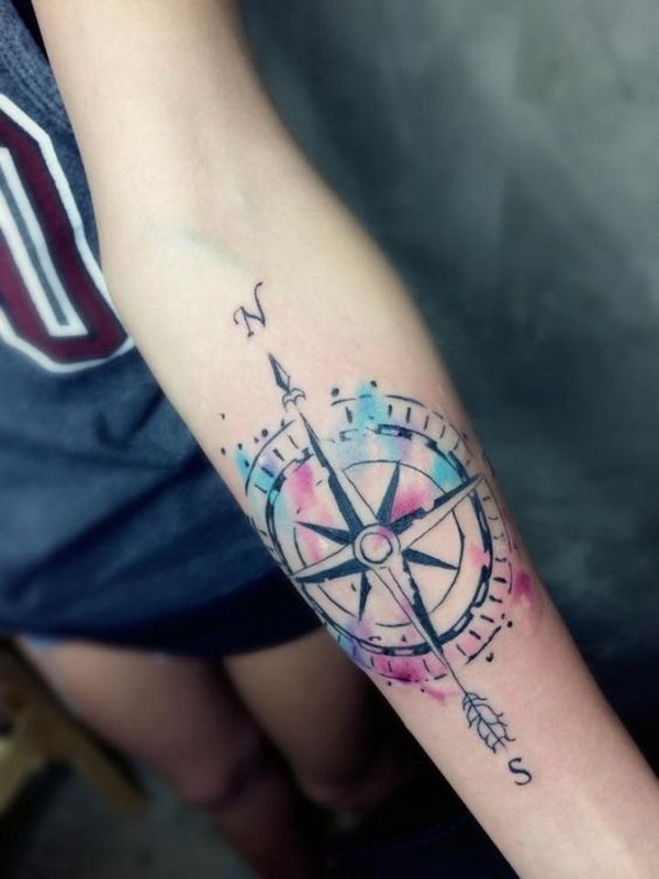 20 Awesome Compass Tattoo Ideas For Creative Juice