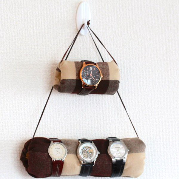 DIY Hanging Watch Holder.