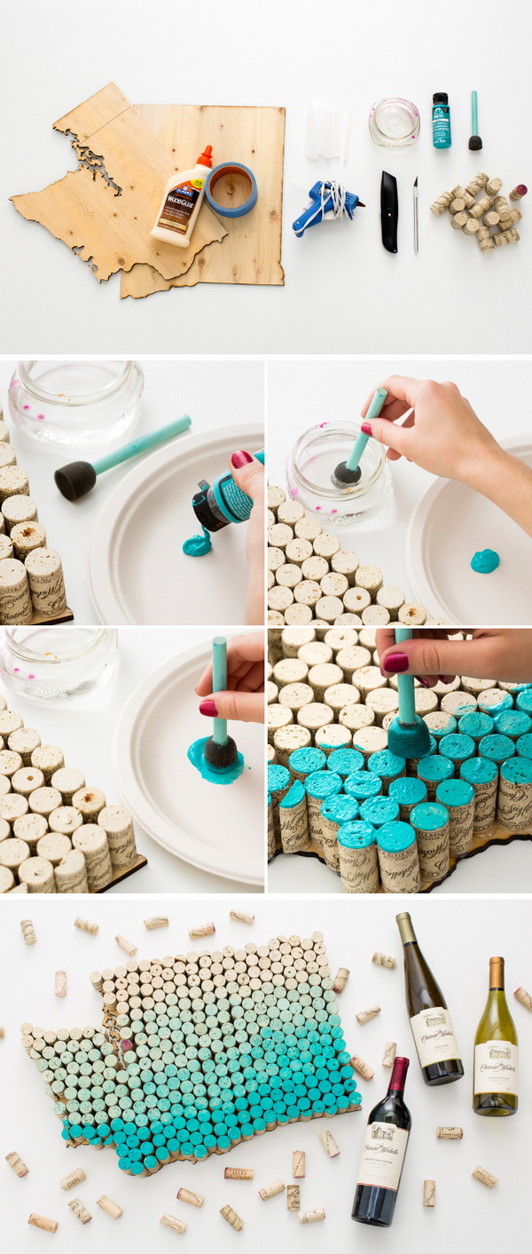 25 Clever Wine Cork Crafts Projects For Creative Juice