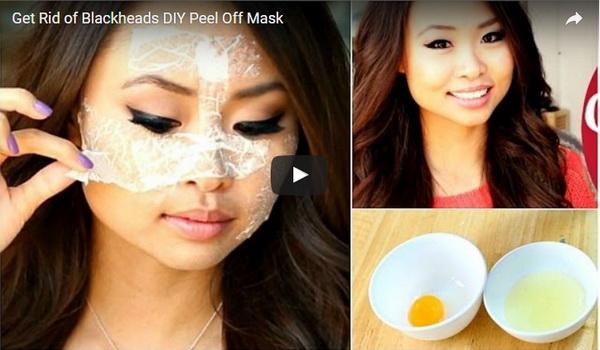 Egg, Sugar and Corn Flour to Get Rid of Facial Hair.