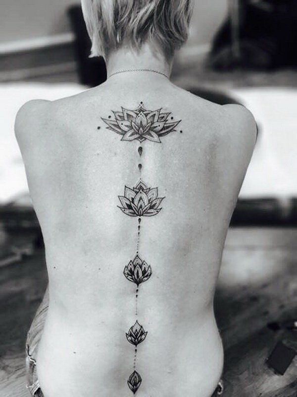 Awesome lotus tattoos - 55 Pretty Lotus Tattoo Designs For Creative Juice