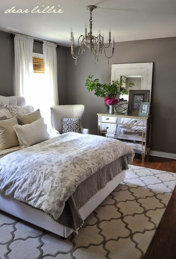 Master bedroom paint color ideas day 1 gray for Jewish master bedroom two beds