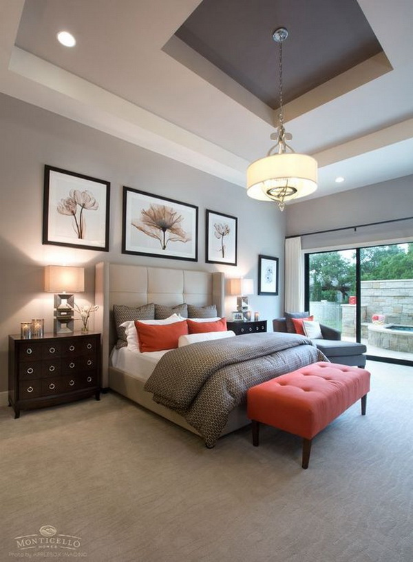 Light Gray or Beige Paint Color for Master Bedroom.