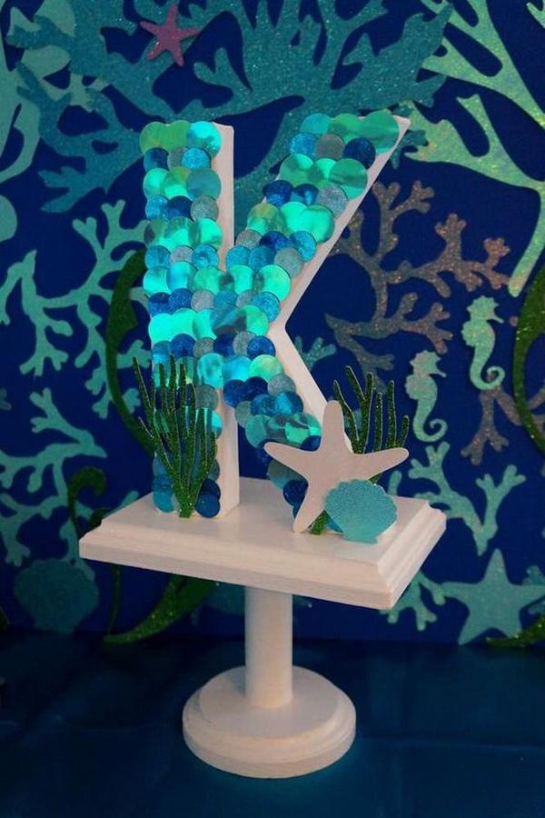 Little Mermaid Table Decorations