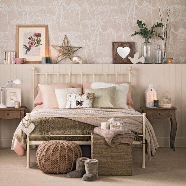 Modern Twist on Vintage Bedroom Design.