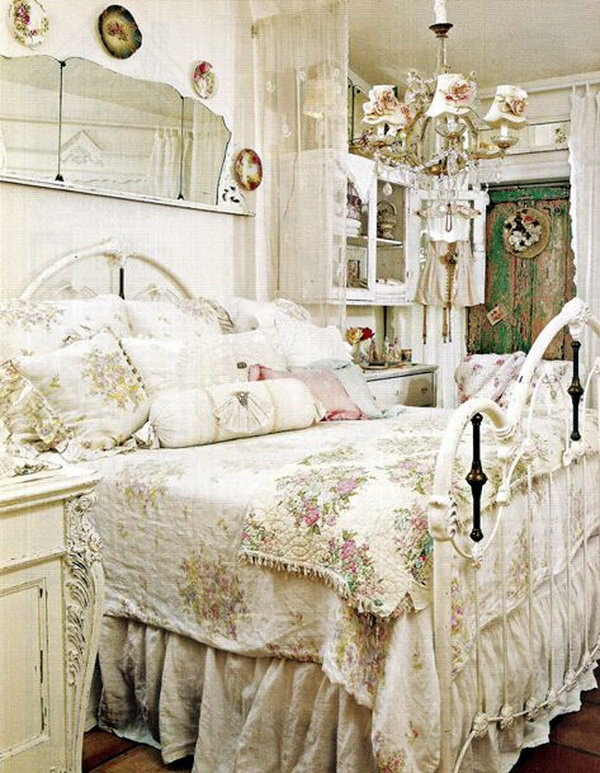 30+ Cool Shabby Chic Bedroom Decorating Ideas - For Creative ...