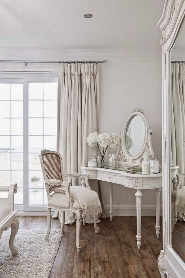 Awesome Magical Shabby Chic Dresser In The Bedroom