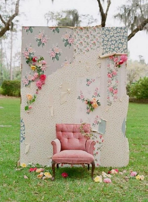 Shabby Chic Weddings Photo Booth.