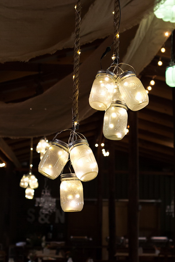 LED Mason Jar Lights. Mason Jars Always Make Great Decor For Indoor And  Outdoor!