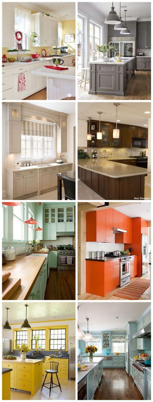 Most Popular Kitchen Cabinet Paint Color Ideas.