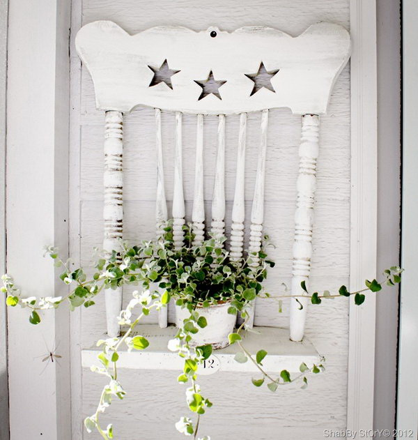 White Licorice for Shabby Chic Decoration.