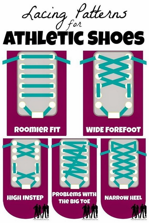 LACING YOUR RUNNING SHOES FOR FIT AND FUNCTION.
