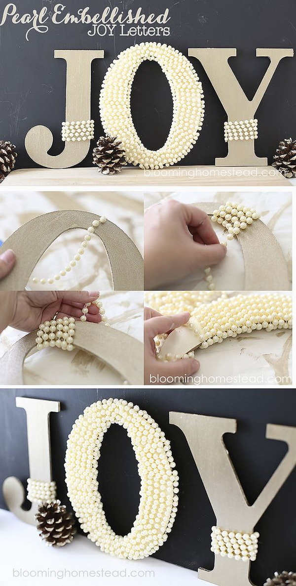 20 Best Diy Decorative Letters With Lots Of Tutorials