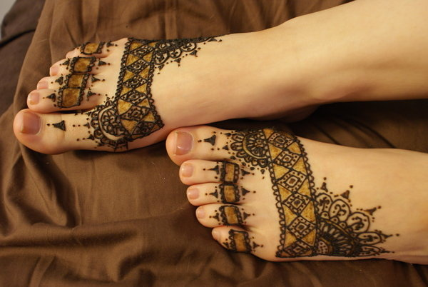 Lacy Tattoo Designs For Foot.