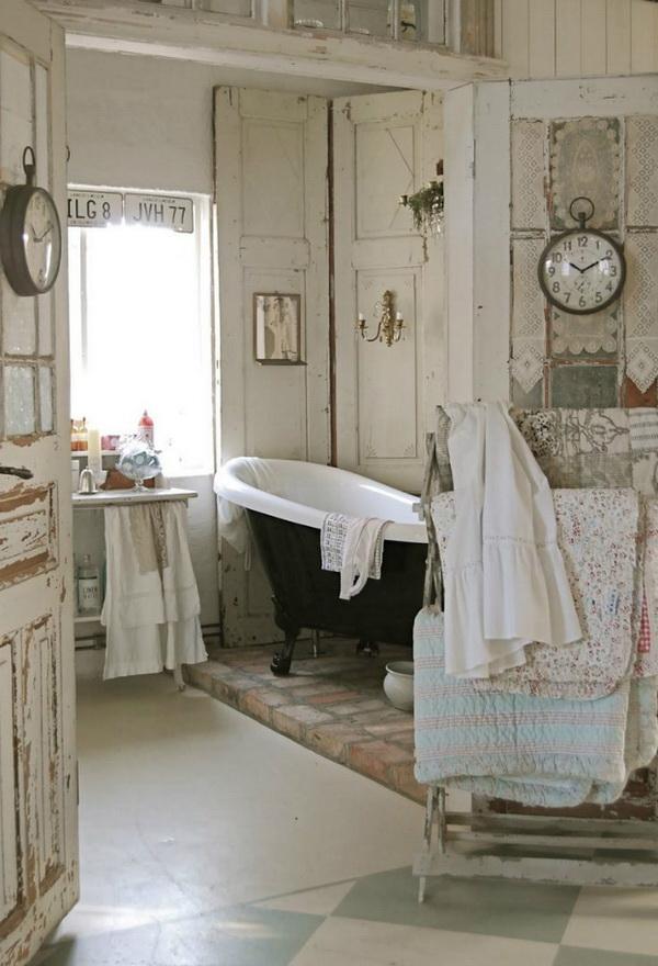 Shabby Chic Bathroom.
