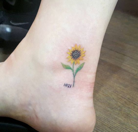 50 Amazing Sunflower Tattoo Ideas For Creative Juice