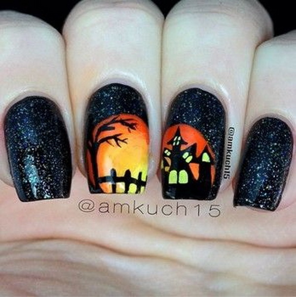 Halloween Nail Art Ideas. Halloween Nail Art Ideas.