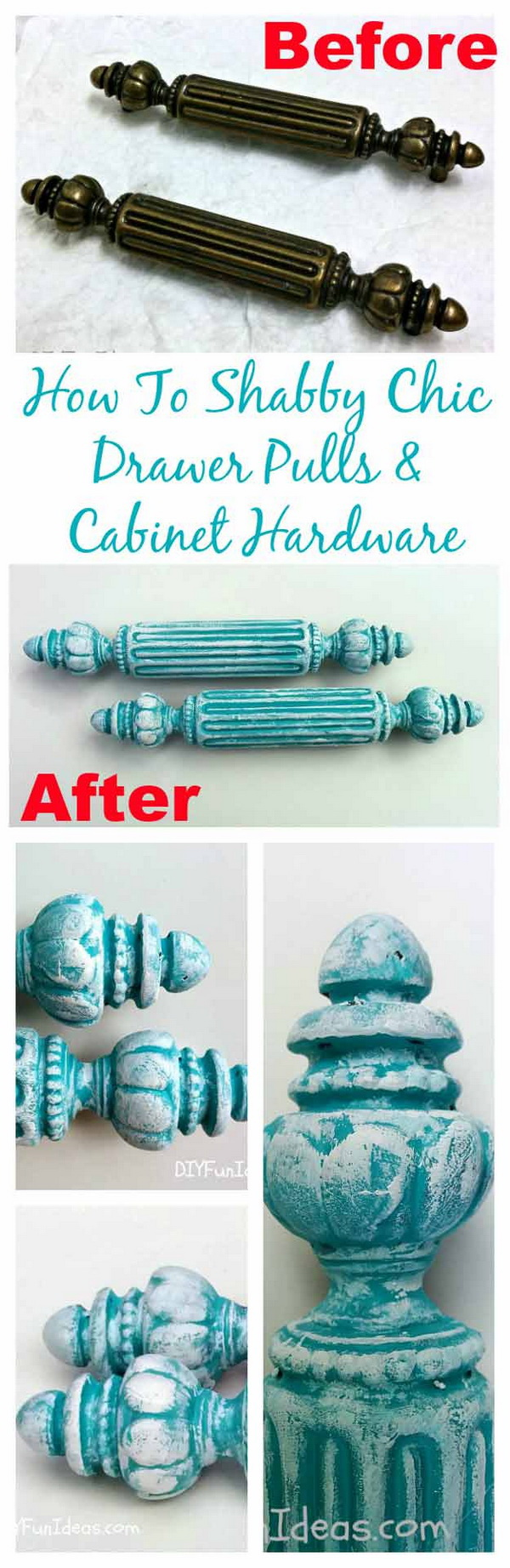 Shabby Chic Drawer Pulls and Cabinet Hardwar.