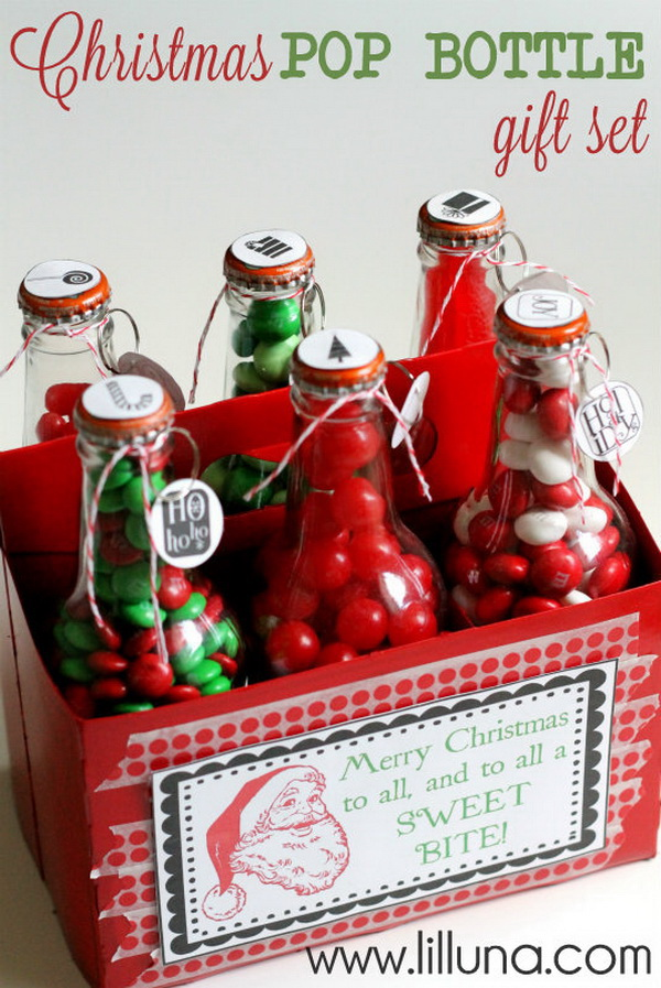 Christmas Pop Bottle Gift Set.