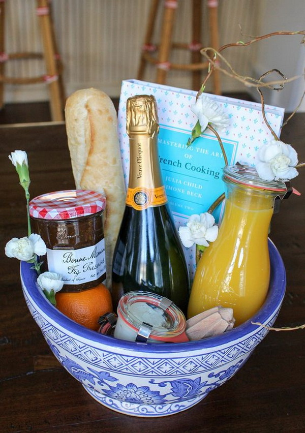 Edible Gift Basket.