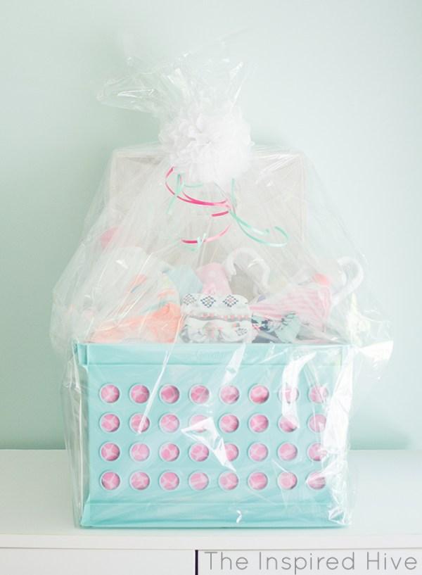 Laundry Basket Baby Shower Gift.