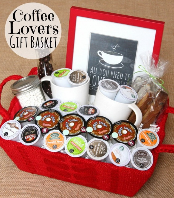 The Gift Basket Of Coffee.
