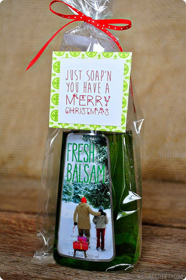 Charming Fun Homemade Christmas Gifts Part - 14: Homemade Bath Products Always Make The Perfect Giving Gifts For