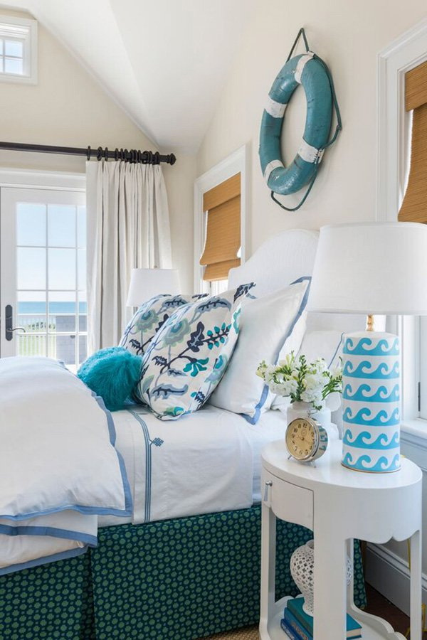 Nautical Themed Bedroom Decor: Coastal Bedroom Design And Decoration Ideas