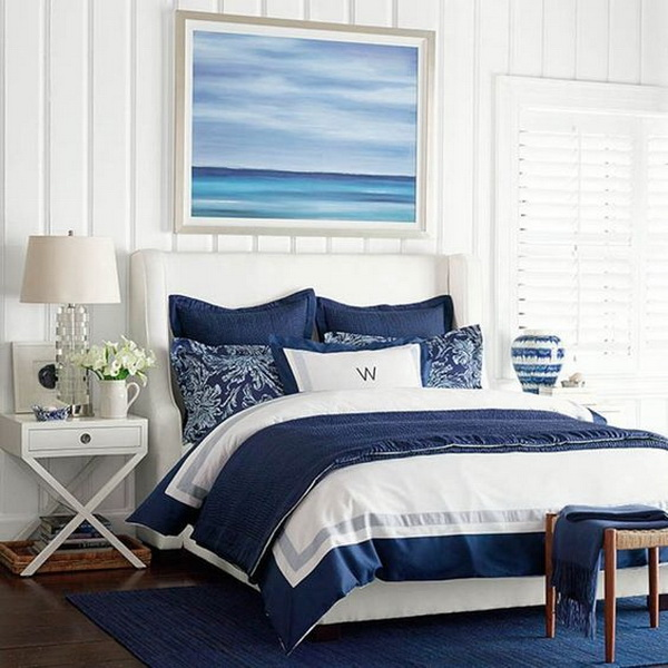 Coastal Bedroom Design and Decoration Ideas - For Creative Juice
