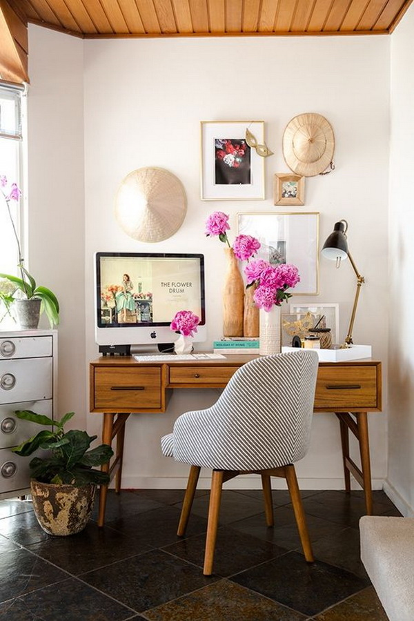 Inspirational Home Office Design Decoration Ideas For Creative Juice
